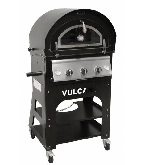 Four à pizza / barbecue GAZ - VULCANO 3 PREMIUM