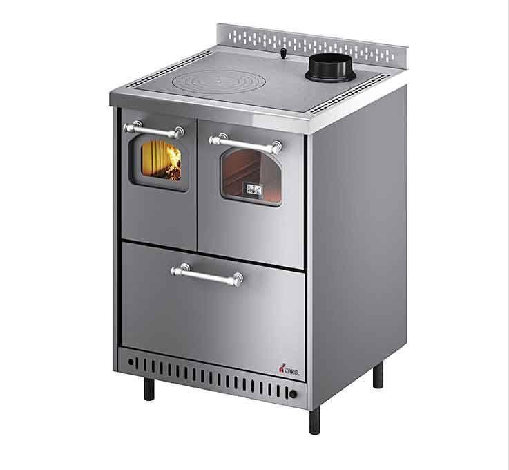 Cuisinière four à bois JOLLY Cadel 6,4kW ref: 7113046 Poêle Plus
