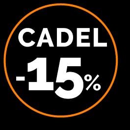 Sticker - Promo CADEL -15%